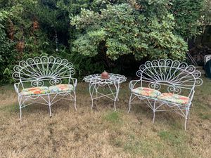Wrought Iron Benches & Table for Sale in Federal Way, WA