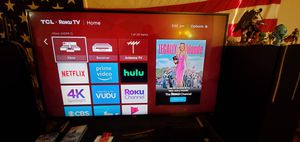 "TCL 55"" 4K ROKU TV for Sale in Fargo, ND"