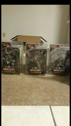 Mint-in-box Unopened Assorted World of Warcraft Collectable Action Figures for Sale in Tempe, AZ