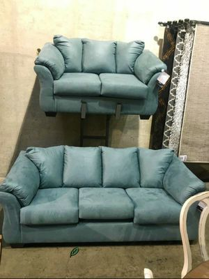 🍾🍾 Best Offer ‼ SPECIAL] Darcy Sky Living Room Set SAME DAY DELIVERY for Sale in Jessup, MD
