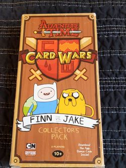 Adventure Time Card Wars Game Finn And Jake Collectors Pack for Sale in Portland,  OR