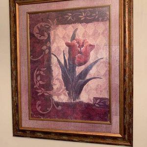 Flower Framed Canvas for Sale in Henderson, KY