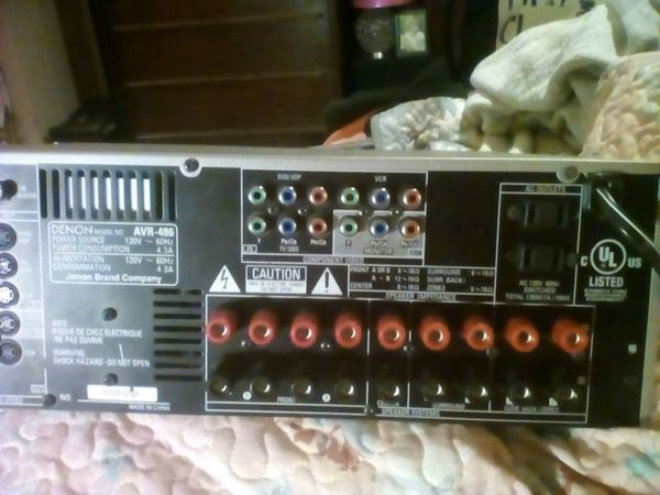 DENON AVR-486 7.1 Channel Home Theater Reciever