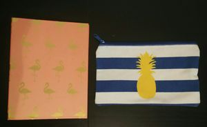 Small binder and pencil pouch for Sale in FT LEONARD WD, MO