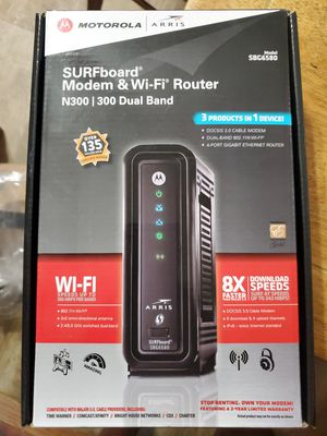 MOTOROLA Cable Modem Router for Sale in Baltimore, MD