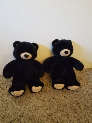 Stuffed animals, black bears for Sale in Beaverton, OR