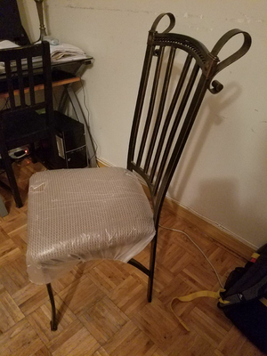 Antique wrought iron chairs for Sale in New York, NY