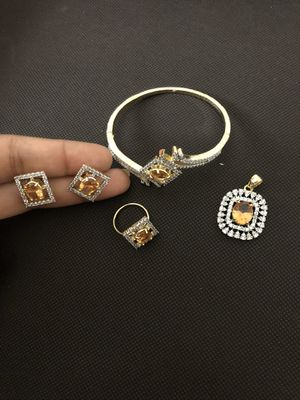 Authentic citrine set for Sale in Gaithersburg, MD