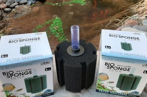 2 pack Filters Bio system turns harmful wastes into beneficial bacteria that keeps your fish healthy and thriving. for Sale in Las Vegas, NV