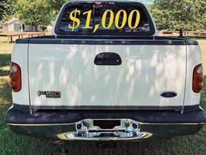 $1,OOO For sale URGENT 2OO2 Ford F-150 XLT Super Crew Cab 4-Door Pickup Everything is working great! Runs great and fun to drive! for Sale in Billings, MT