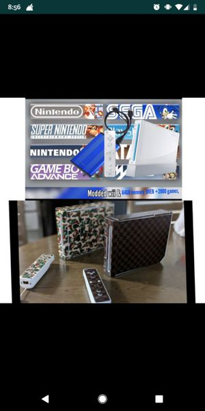 Modded Nintendo Wii for Sale in Pasco, WA