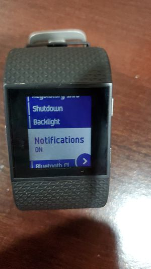 Fitbit surge small for Sale in Princeton, NJ