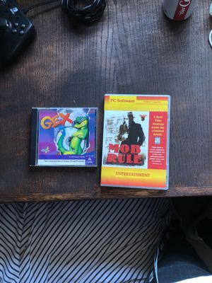 Gex and mob rule 90s PC games for Sale in Keizer, OR