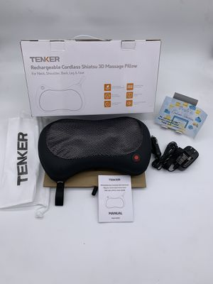 Cordless Shiatsu Neck Shoulder Back Massager with Heat for Sale in Carrollton, TX