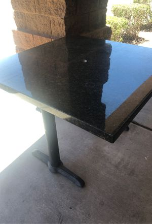 Granite Table - square and rectangle available for Sale in Mesa, AZ