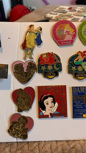 Disney assorted official pins for Sale in Long Beach, CA