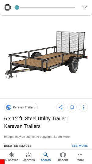 2018 karavan utility trailer for Sale in Pearland, TX
