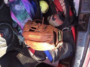 Baseball glove a2000 Dustin Pedroia edition for Sale in Avondale, AZ