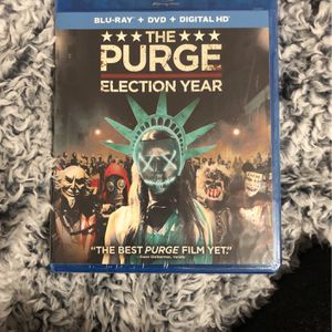 Blu Ray The Purge Election Year DVD NEW for Sale in Corona, CA