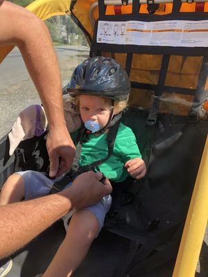 Burley Bee bike trailer for kids for Sale in Fairfield, CT