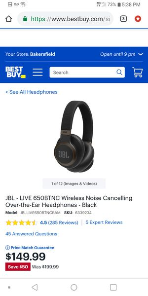 Brand new jbl wireless headphones for Sale in Bakersfield, CA