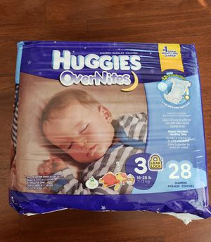 Huggies Diapers Size 3 for Sale in Seattle, WA