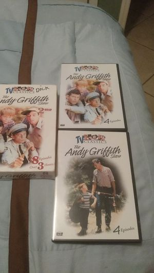 TV classics the Andy Griffin show eight episodes over three hours for Sale in Venice, FL
