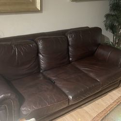 Leather Couch Set for Sale in Broomfield,  CO