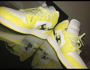 Jordan 1 Mid Dynamic Yellow (GS) for Sale in Germantown, MD