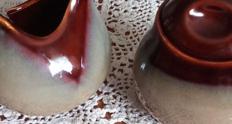 Studio pottery sugar and creamer set for Sale in Maple Valley,  WA