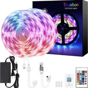 Smart LED Strip Lights,Color Changing LED Strip Lights,32.8ft RGB Light Strips,Waterproof LED Light Strips,Flexible LED Lights for Bedroom Home Kitche for Sale in Colonial Heights, VA