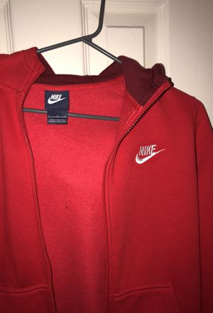 Red Nike Zipup for Sale in Austin, TX