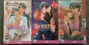 The Guilty Yaoi vol 1,2,4 (rare yaoi) for Sale in Portland, OR