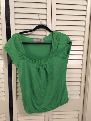 Green cotton top from Zara for Sale in Nashville, TN