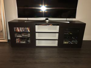 IKEA TV and media storage (pick up only) for Sale in Dallas, TX