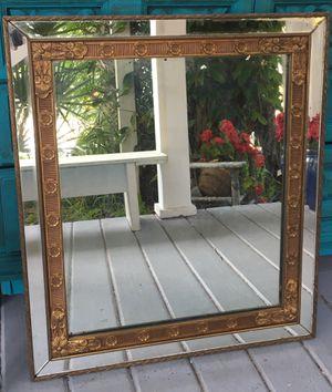 Antique lead glass mirror $40 for Sale in Merritt Island, FL