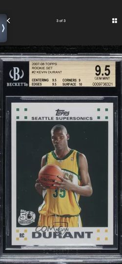 Kevin Durant Rookie Card for Sale in New Berlin,  IL