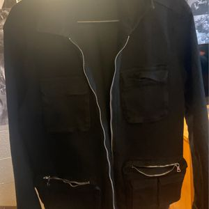 Black Denim Jacket for Sale in Elkins, WV