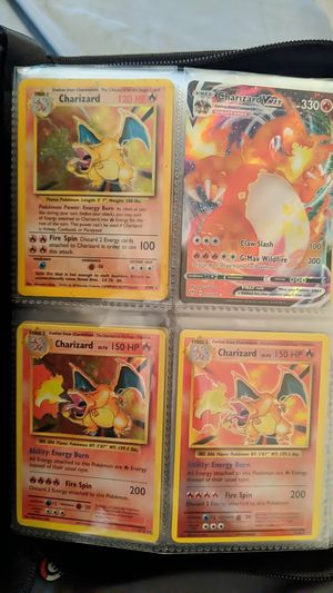 Pokemon Charizard Collection for Sale in San Antonio, TX