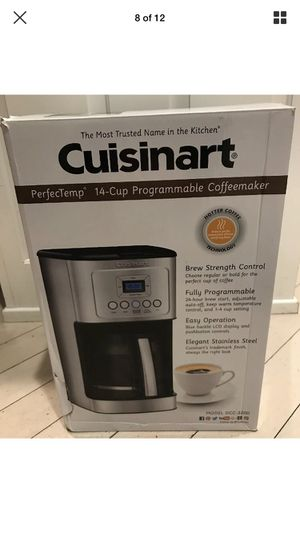 New Cuisinart DCC- 3200 14 Cup Programmable Coffee Maker Stainless Steel for Sale in Blackstone, MA