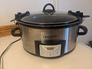 Crock Pot Slow Cooker 6 quarts for Sale in Seattle, WA