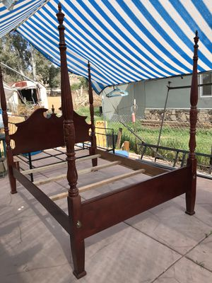 Queen Size Bed Frame for Sale in Homeland, CA