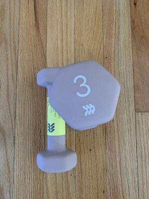New Dumbbells All in motion 3lb set of two neoprene for Sale in Adelphi, MD