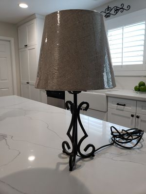 Desk or Table Lamp with NEW Lampshade for Sale in Seal Beach, CA