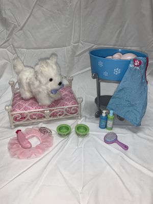 American Girl Doll Puppy Set for Sale in Riverside, NJ