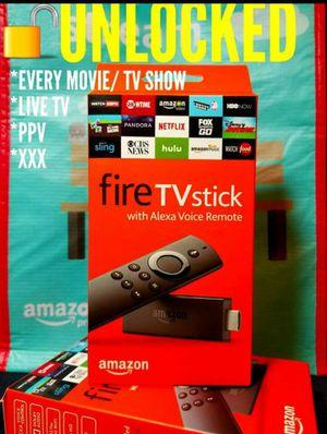 Unlocked Amazon Fire TV Stick JAILBROKEN Nvidia PS4 Phone Roku Tablet Android Box Xbox Iphone Killer for Sale in Las Vegas, NV