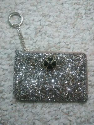 ♠Kate Spade Glitter ID Credit Card Wallet Key Chain for Sale in Schaumburg, IL