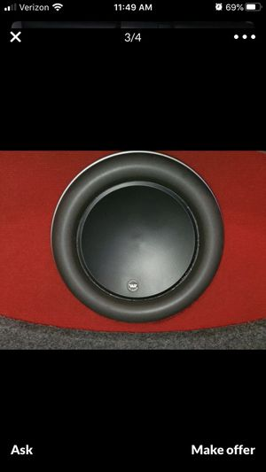 Jl Audio 12w7 subwoofer only NO box for Sale in Hayward, CA