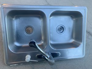 Sink and faucet free delivery for Sale in Melbourne, FL