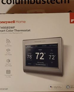 Honeywell Home RTH9585WF1006 Smart Color Thermostat BRAND NEW!! for Sale in Kearny,  NJ